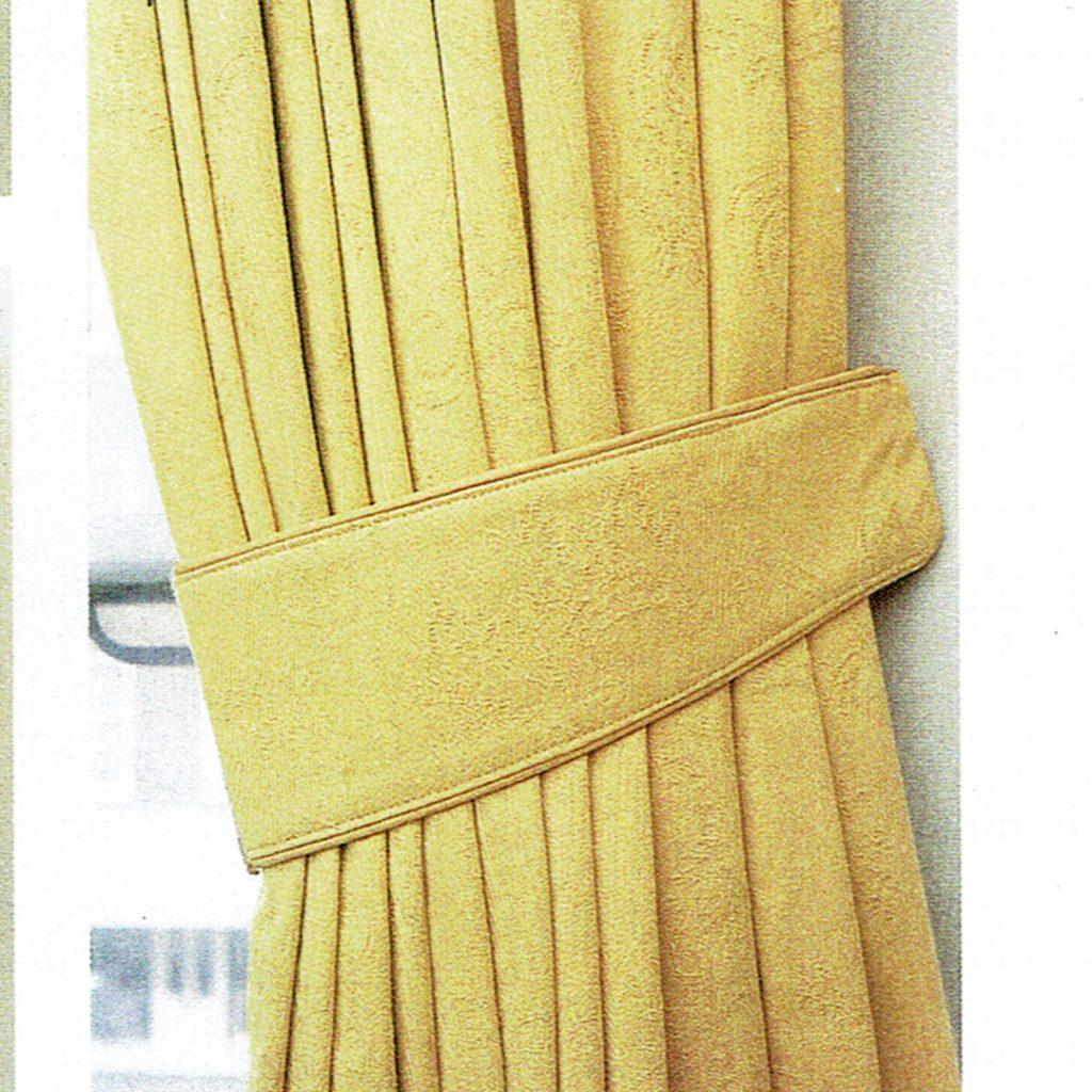 Crescent Curtain Tieback