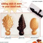 Decorative Curtain Finials