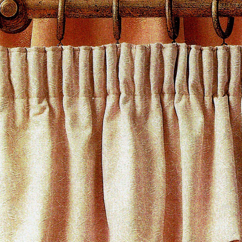 Pelmet-Headed Pleats